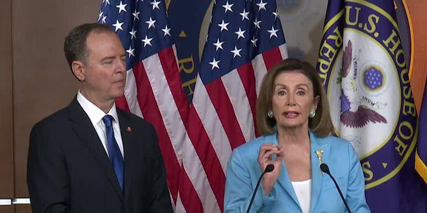 Impeachment standoff: Trump sees 'hoax,' Dems a stonewall