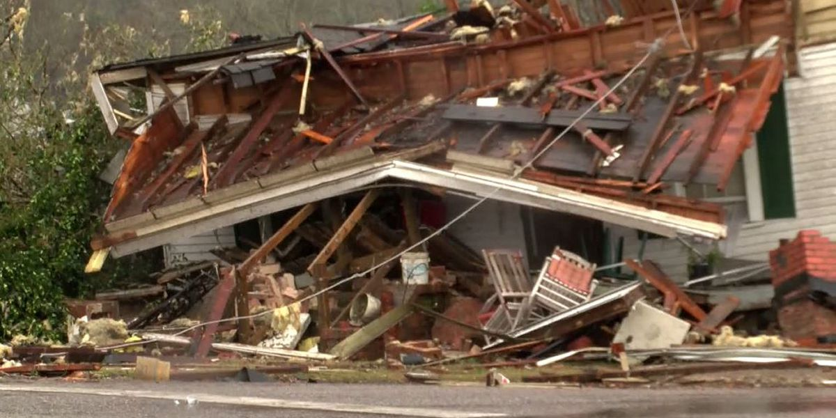PHOTOS: Tornado damage in downtown Wetumpka