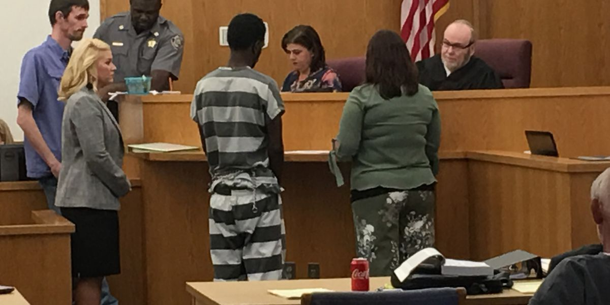 Man accused of raping senior woman at gunpoint appears in court
