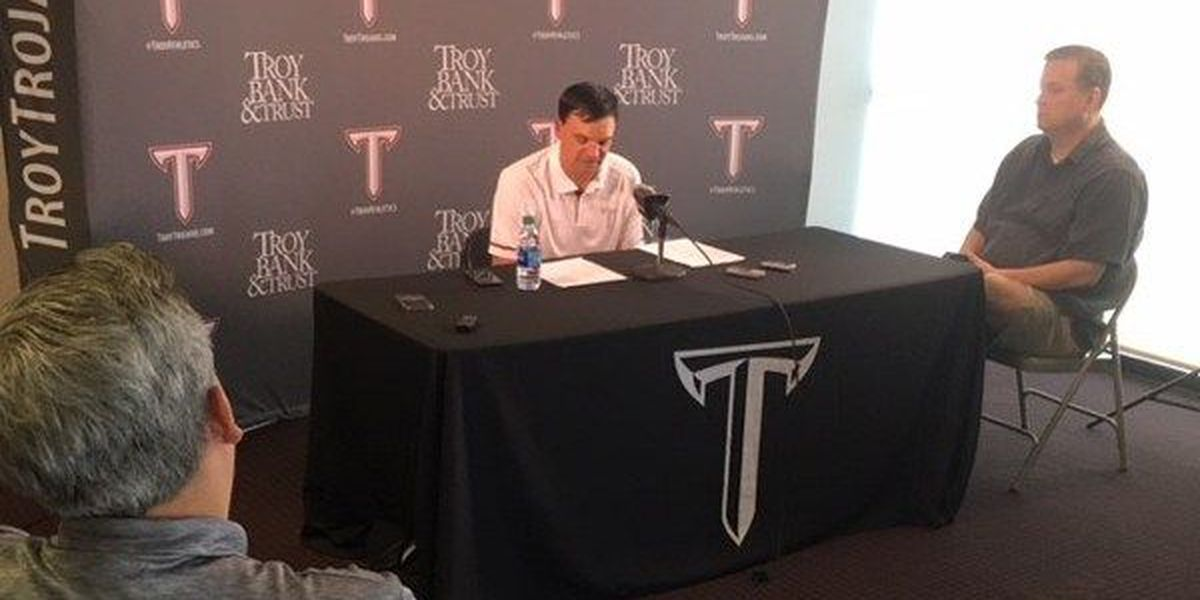 Troy puts championship talk on hold ahead of Arkansas State