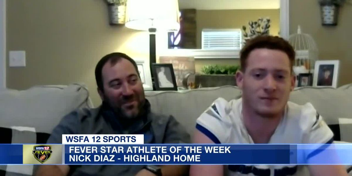 Fever Star Athlete of the Week: Nick Diaz- Highland Home