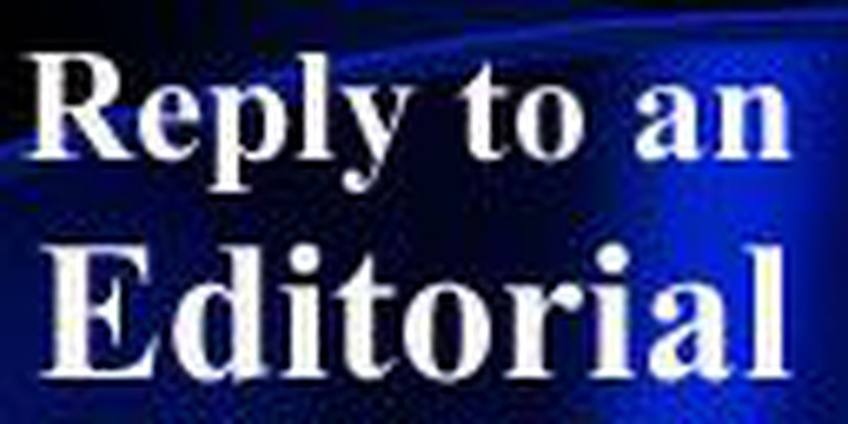 Reply or make a suggestion about an editorial
