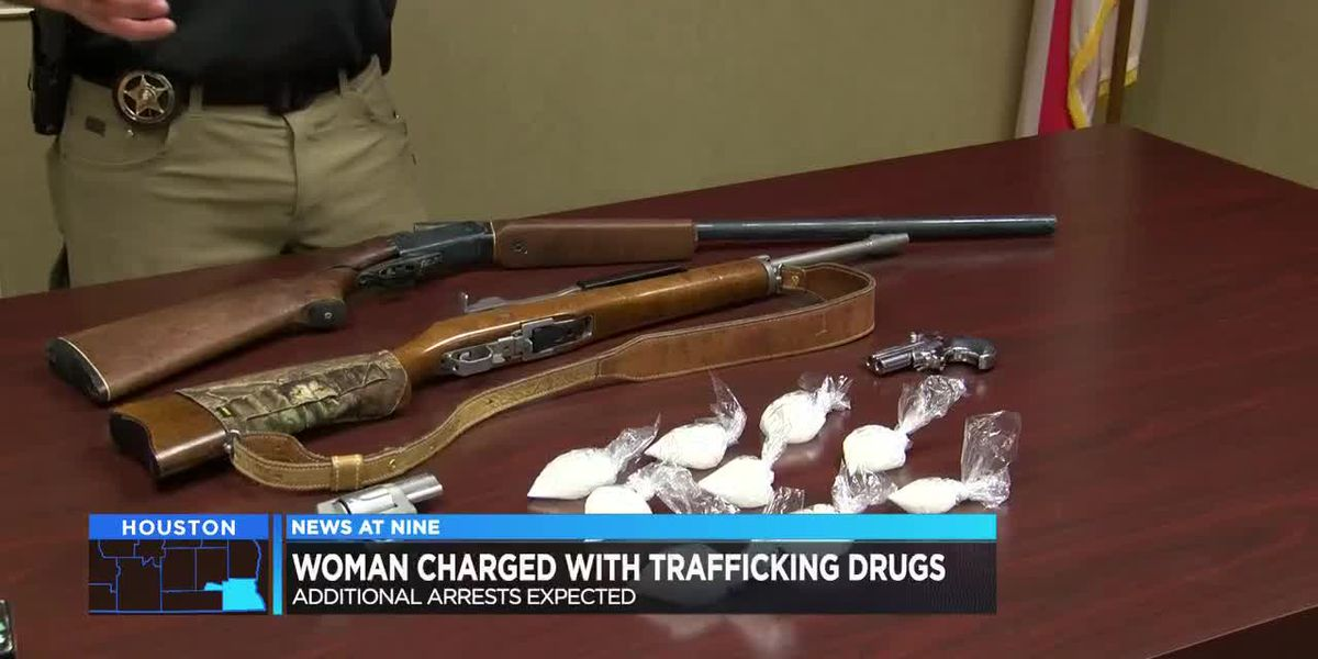 Woman charged in south AL drug bust