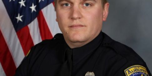 Auburn officer remains hospitalized but improving