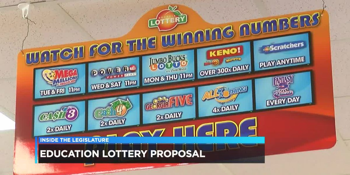 Alabama lawmaker set to propose education lottery