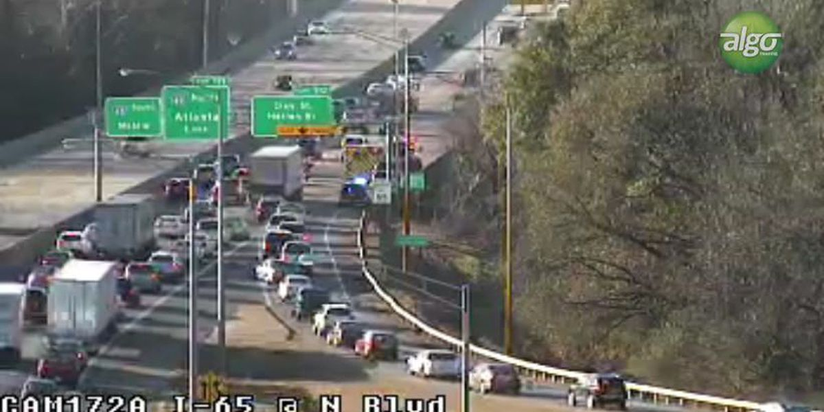I-65 SB clear after crash at the Northern Boulevard