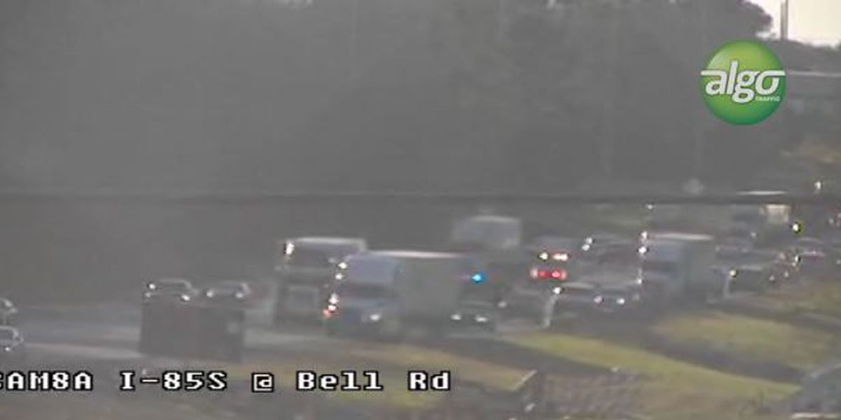 Major delays on I-85 NB near Bell Road