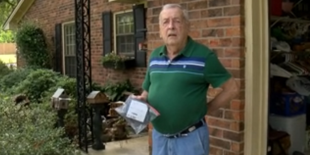 Alabama man suspects odd mail is seed package from China