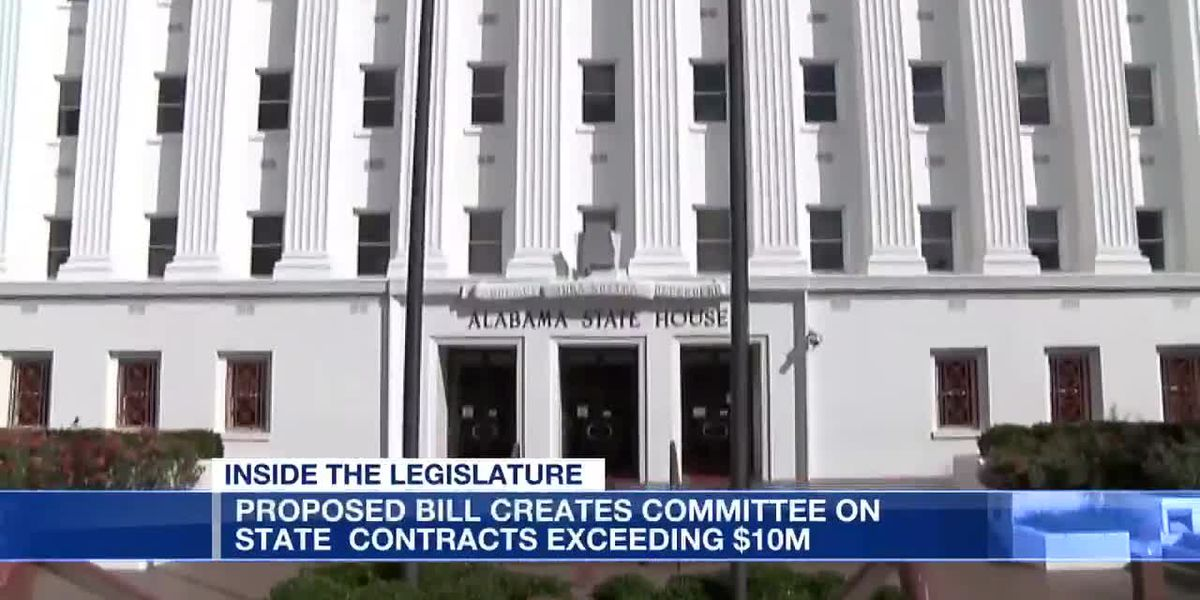 Proposed bill creates committee on state contracts exceeding $10M