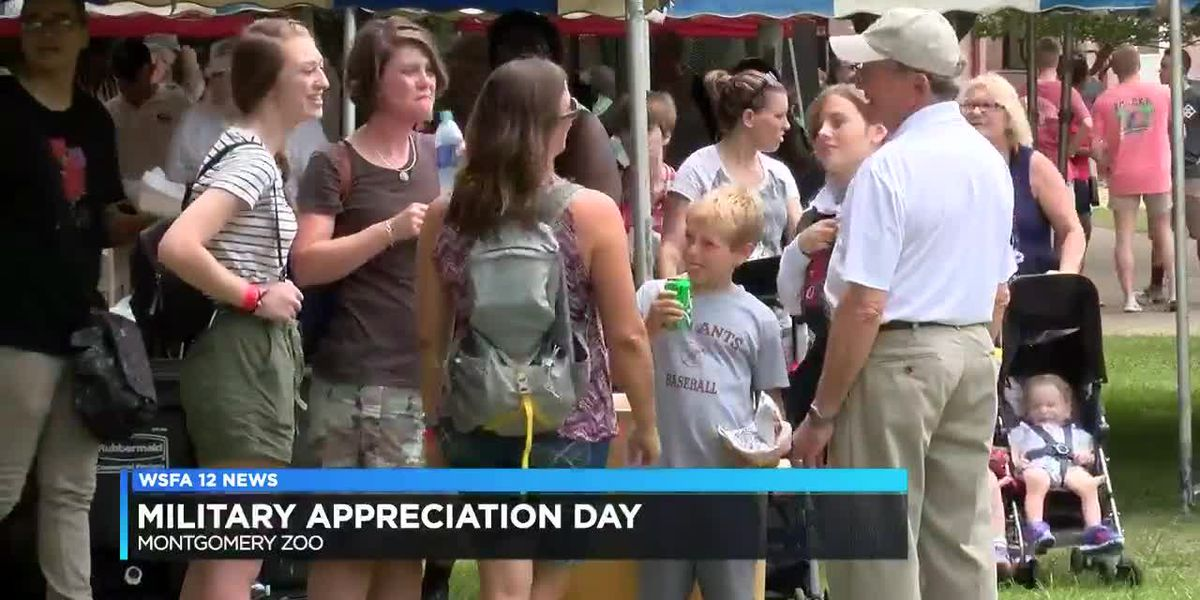 Military members welcomed to Montgomery Zoo for free visit