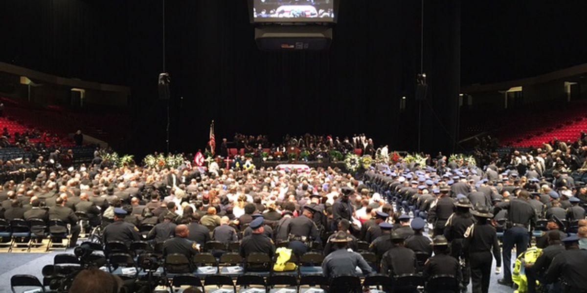 Remembering Sgt. Carter: Family, friends speak at funeral of fallen B'ham officer