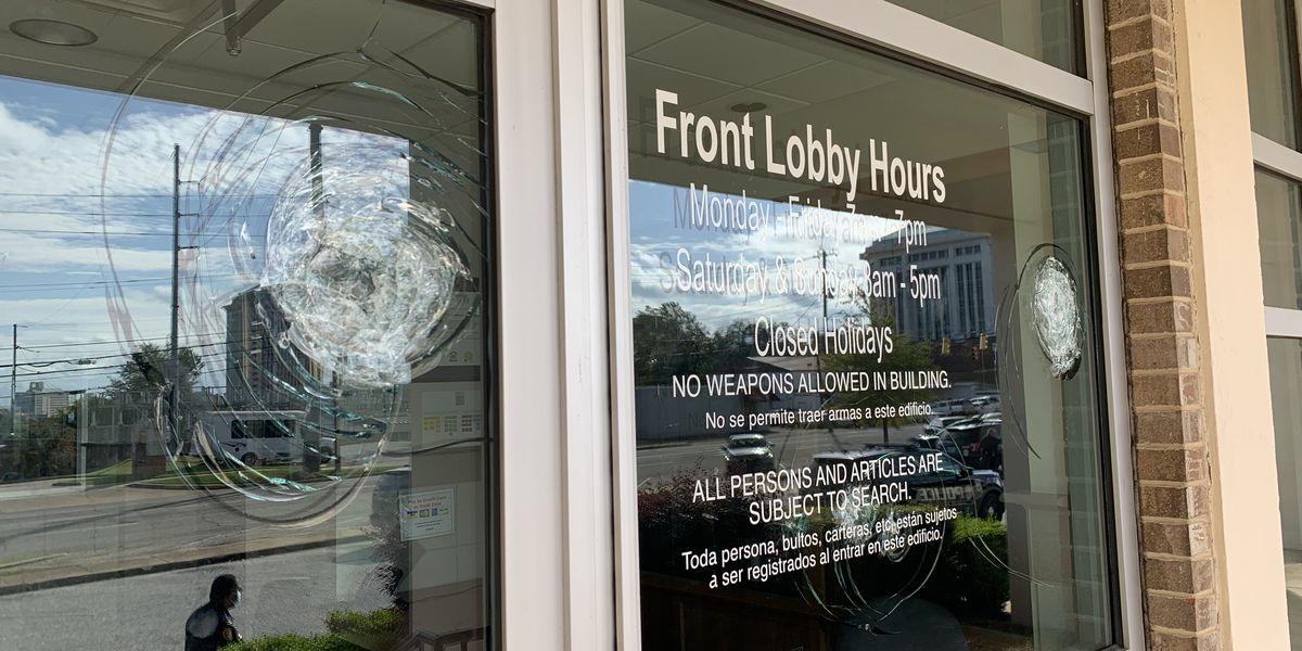 Chief: Montgomery Police Department's headquarters vandalized with 'small ax'