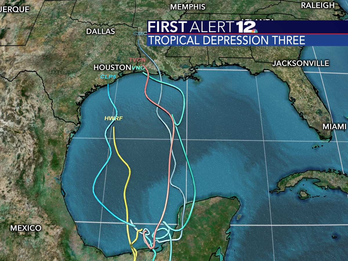 Tropical Storm Cristobal has formed; becomes third named system this season