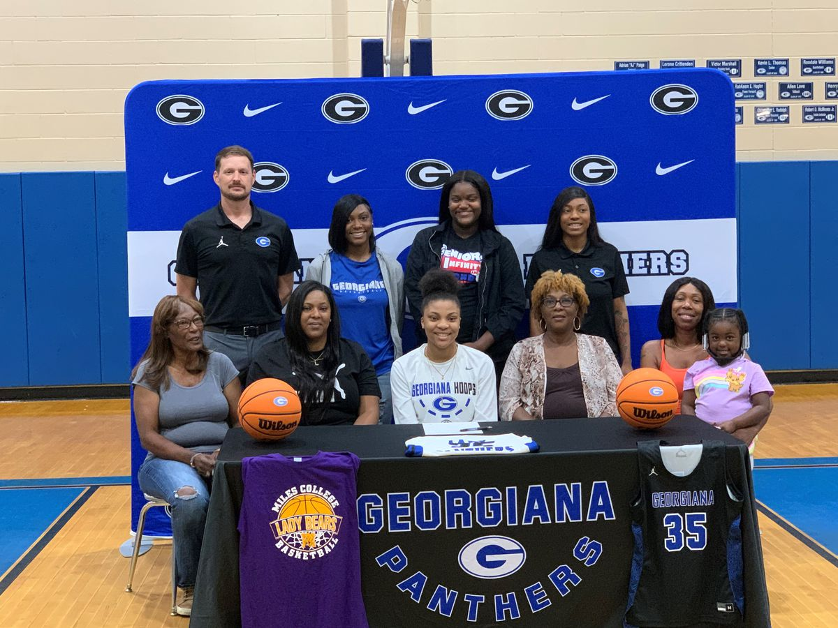 Georgiana's Tenasia Gordon signs with Miles College