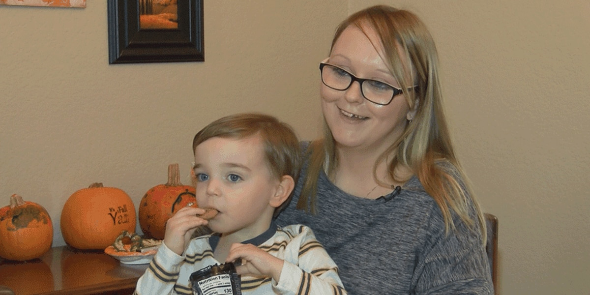 Families of the Year: Ashley Bell and Jaxson Jordan
