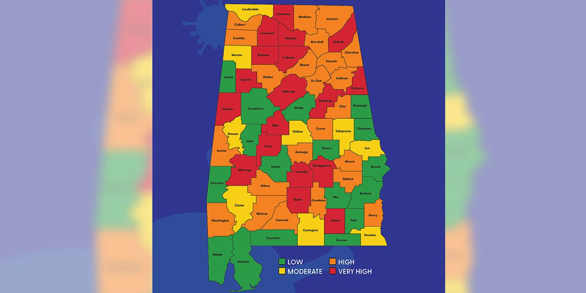 Montgomery now 'very high risk' on Alabama's risk indicator dashboard