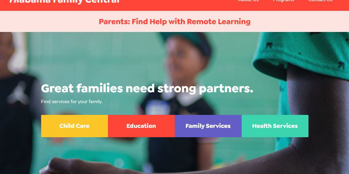 Alabama launches website to help connect families with resources