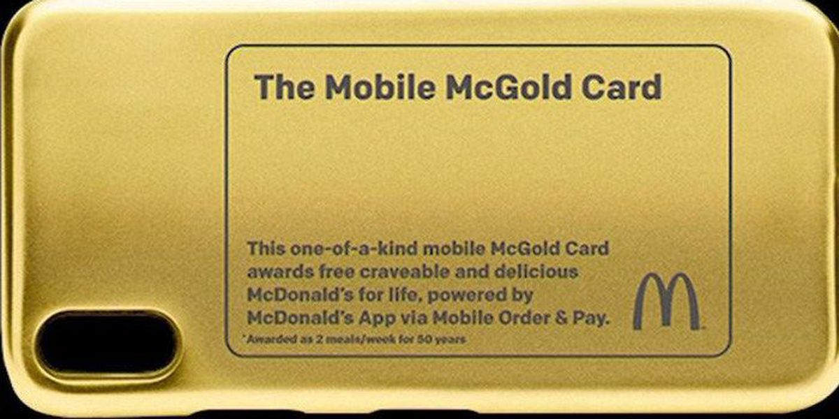 McGold-en ticket: New chance to win free McDonald's for life