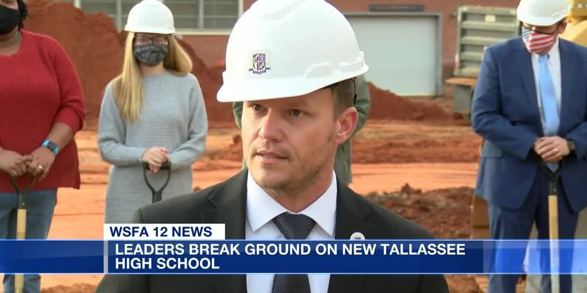 Tallassee breaks ground on new multimillion dollar high school
