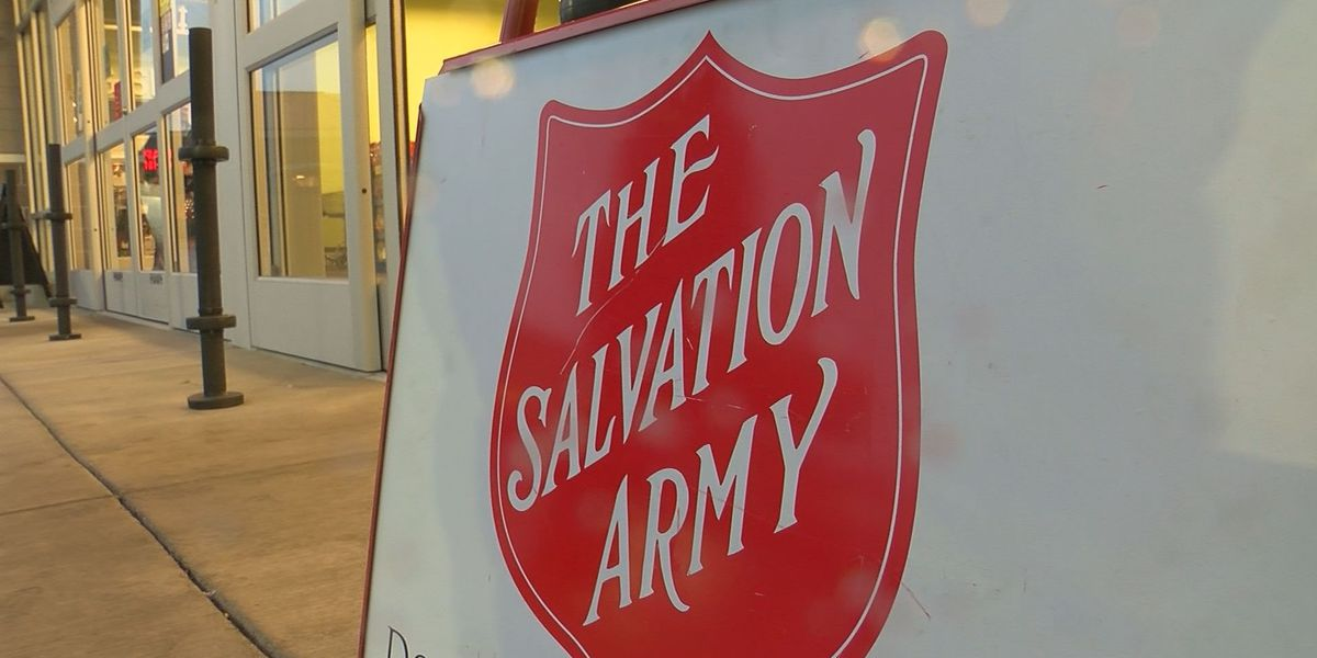 Salvation Army falls short of kettle donation goal, still time to give
