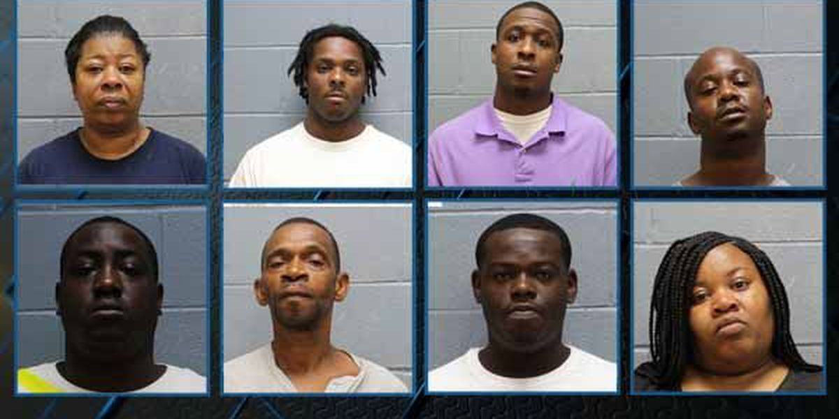 Gambling investigation leads to 8 arrests in Lee County