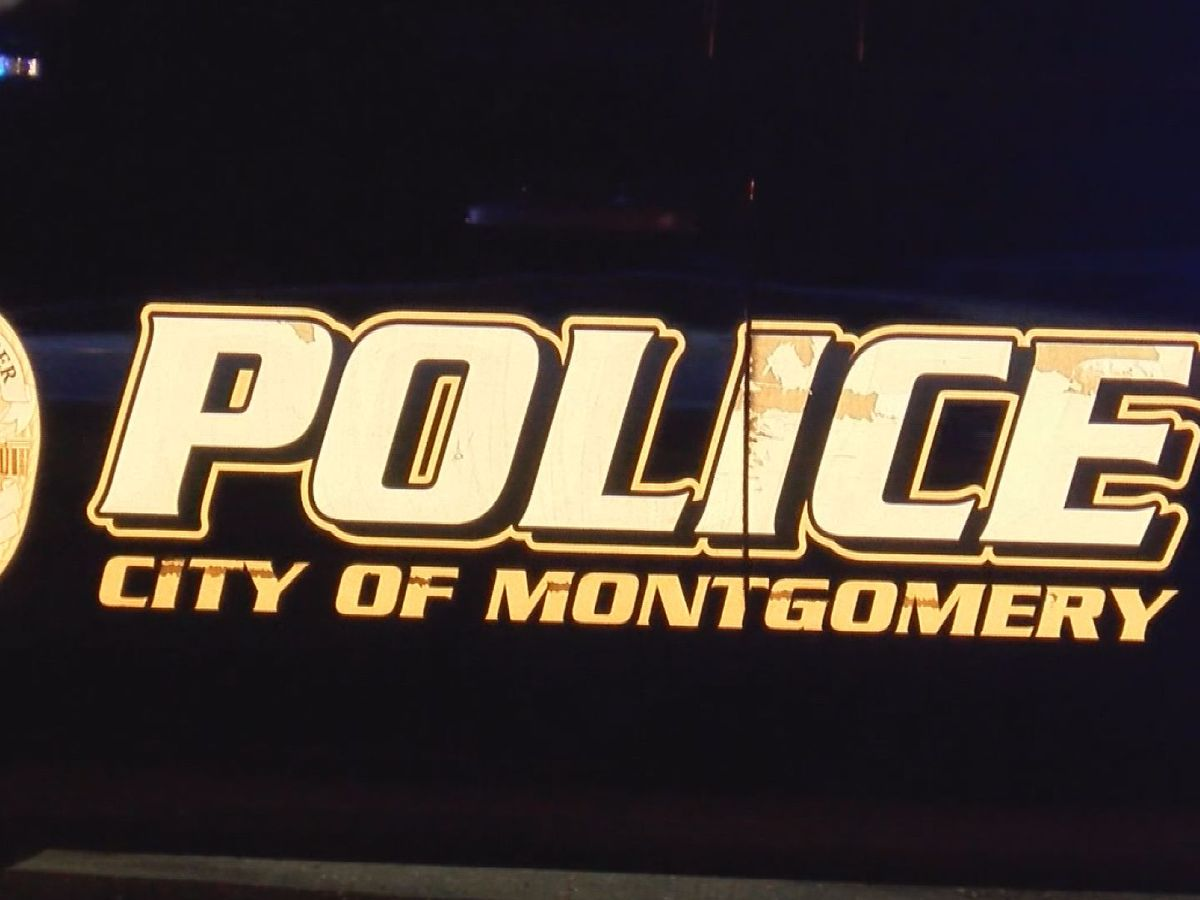 Building hit by gunfire in Montgomery