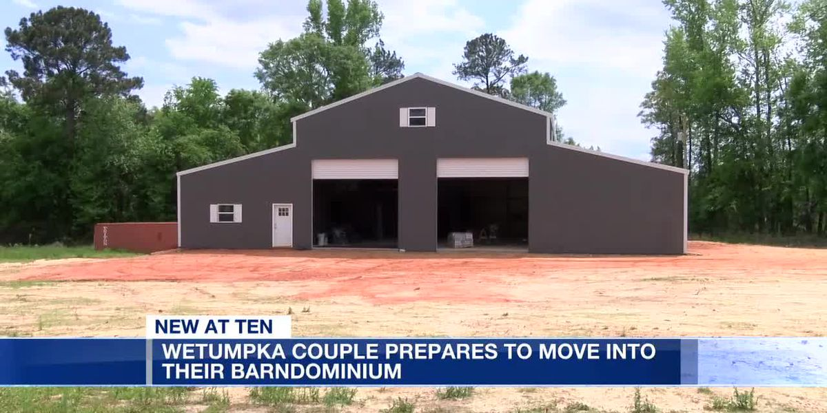 Wetumpka couple prepares to move into their barndominum