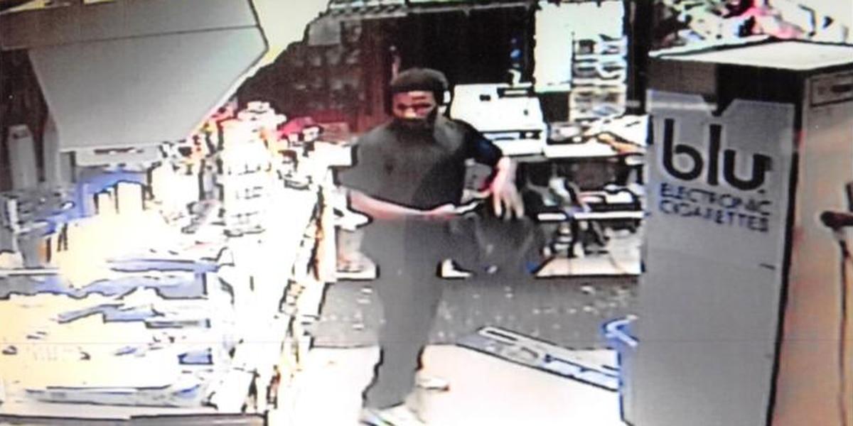 Enterprise police investigating gas station burglary