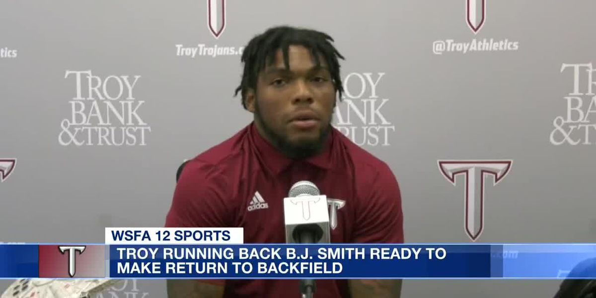 BJ Smith ready for return to the gridiron