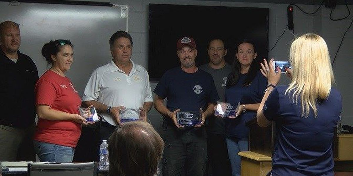 Pine Level 'lifesavers' honored for car accident rescues