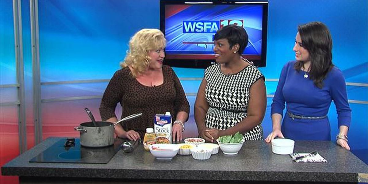 In the Kitchen with Leslie Bailey: Andy's Sassy Sausage Soup
