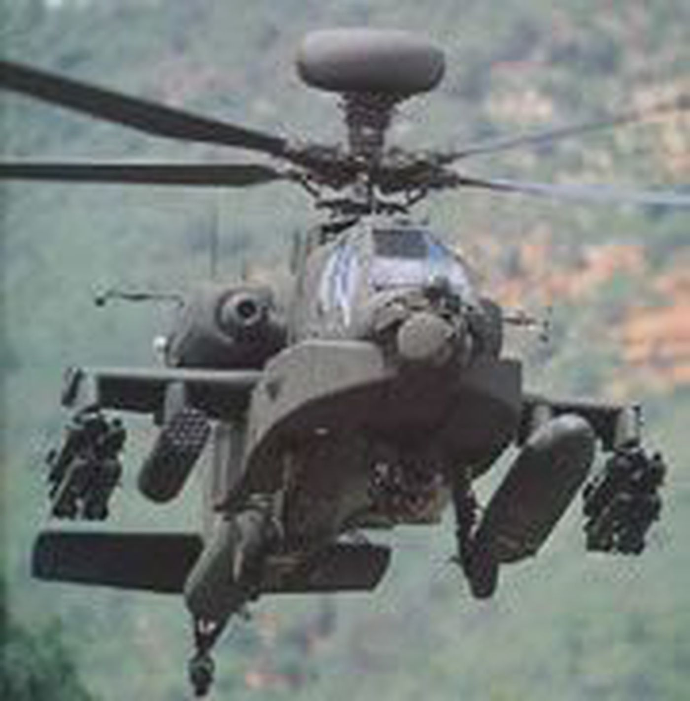 Fort Rucker AH-64D Apache Damaged During Training