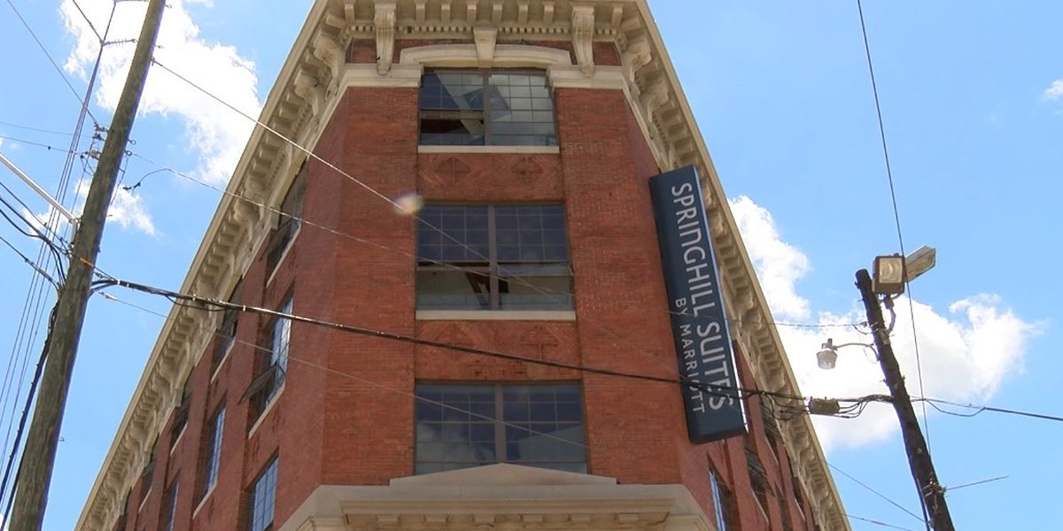 New hotel opens in historic downtown Montgomery building