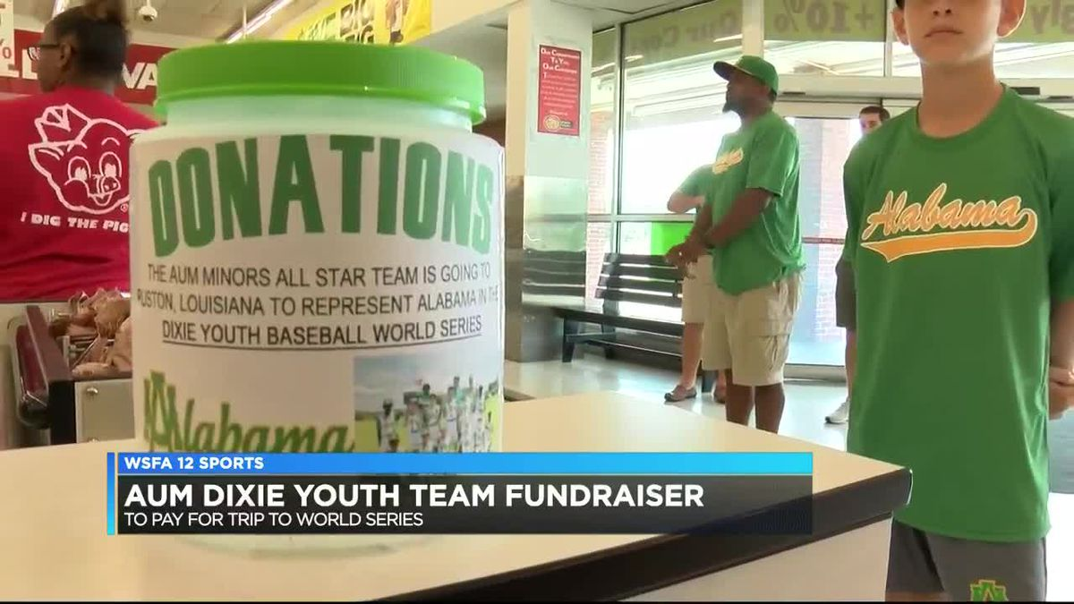 AUM Dixie Youth Team team fundraiser to help pay for World Series trip