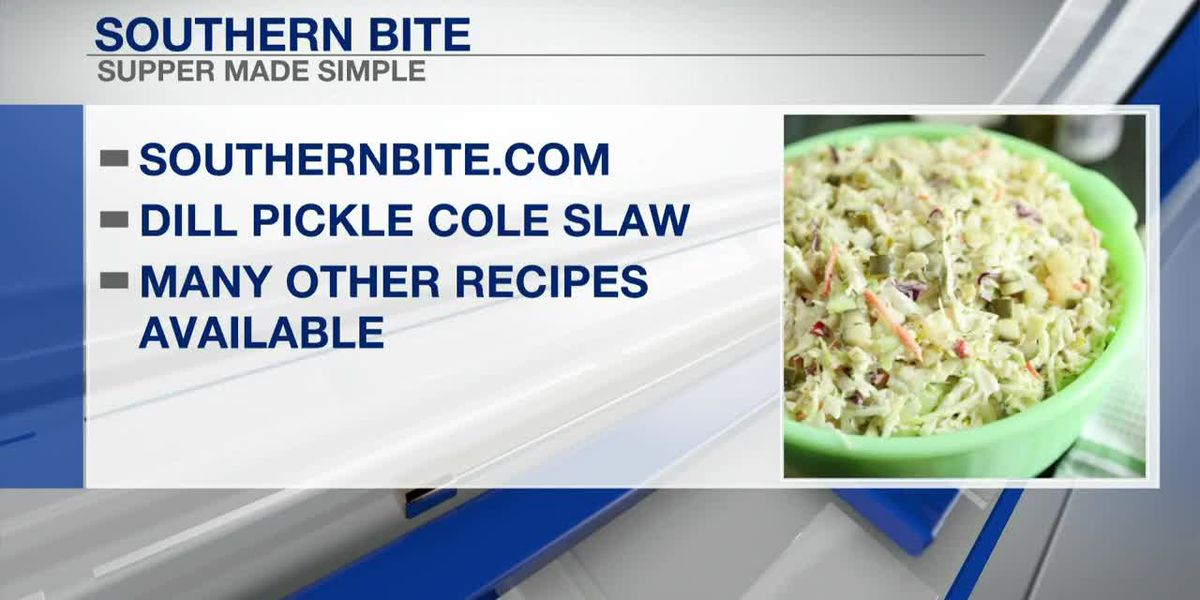 Southern Bite: Dill Pickle Cole Slaw