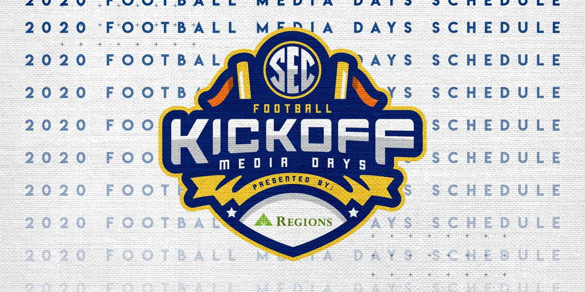 2020 SEC Media Days schedule released