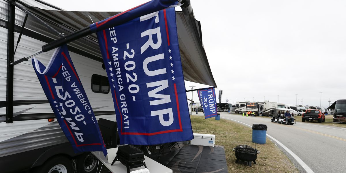 Trump giving election-year embrace to NASCAR and its fans