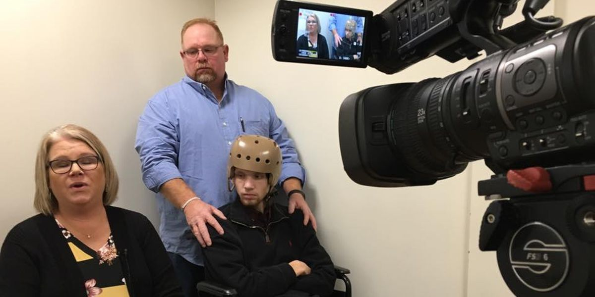 Teen critically injured by punch attends suspect's hearing
