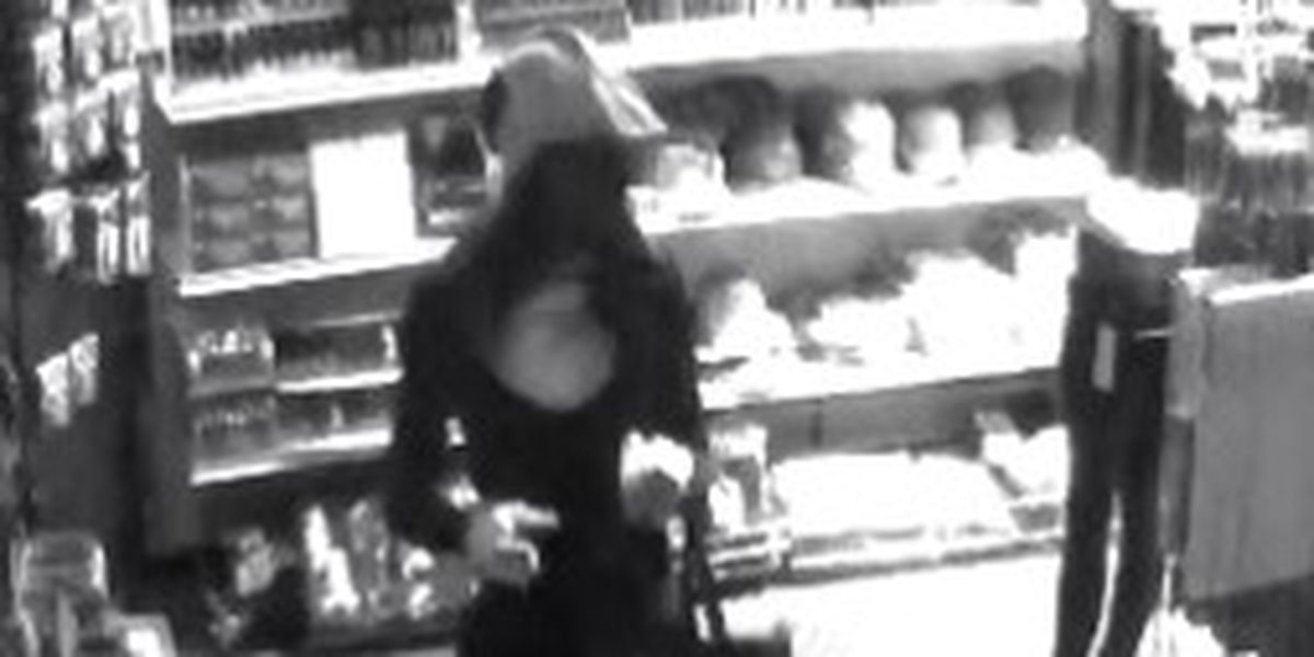 Investigators release photos of burglary suspect who hit same store twice