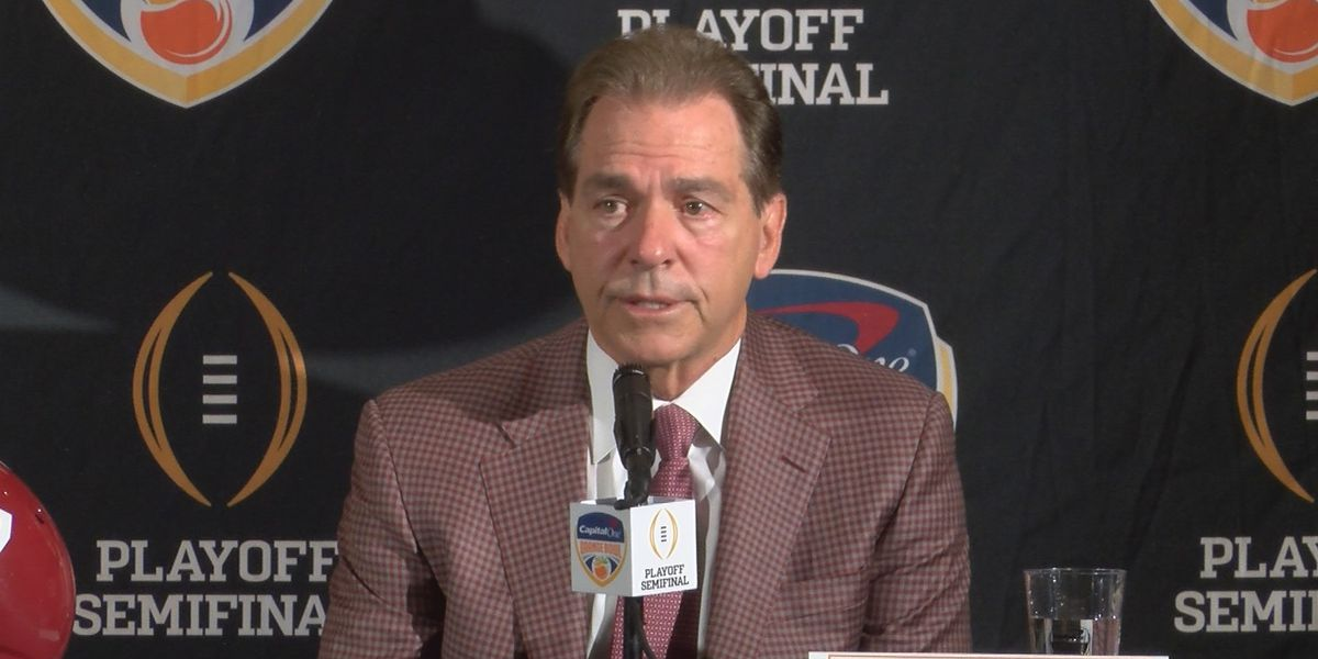 Saban talks keys to slowing down the Sooners