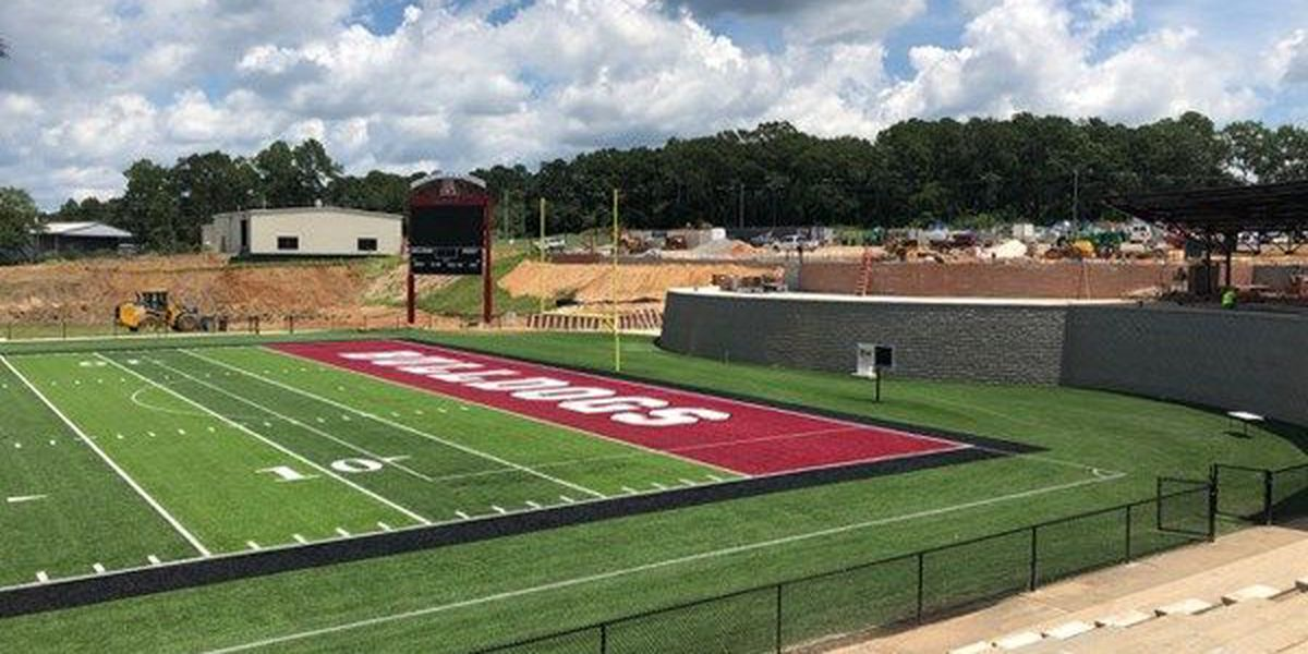 Andalusia High School football stadium renovation near completion