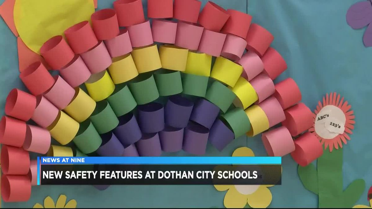 Dothan City Schools showcases safety upgrades