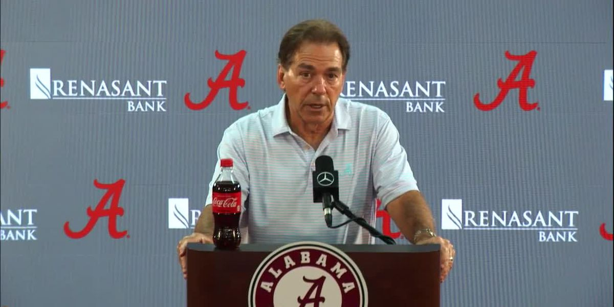 Nick Saban remains asymptomatic after positive COVID-19 test