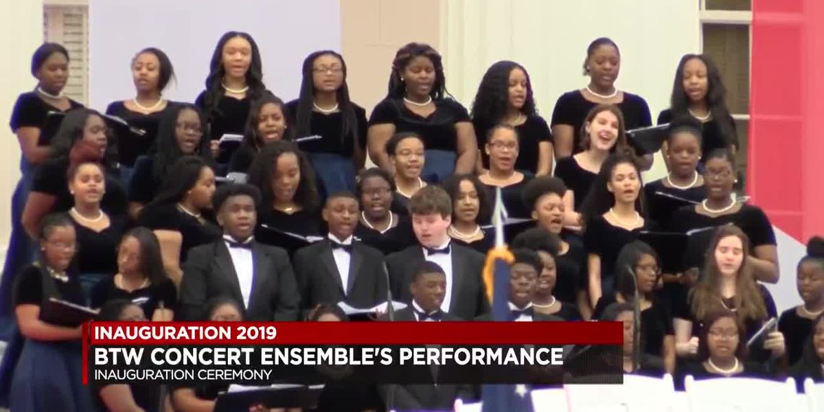 AL high schools perform in Inauguration Day parade