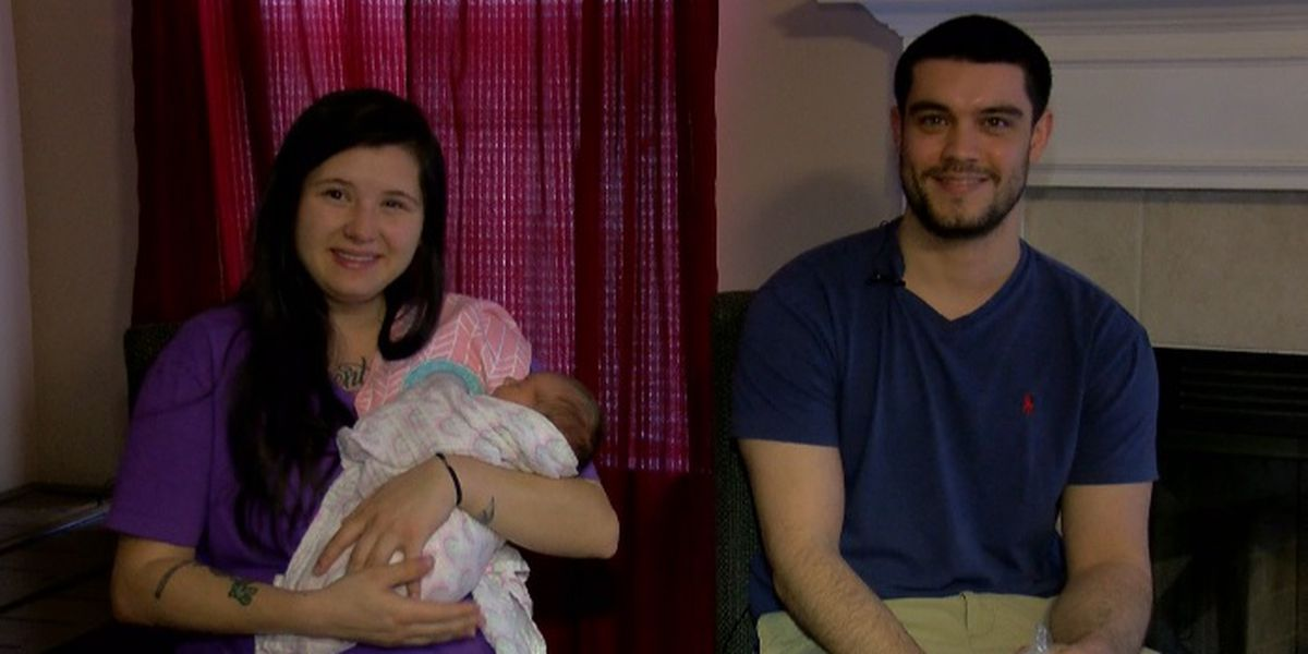 Alabama couple delivers baby in their truck outside of hospital