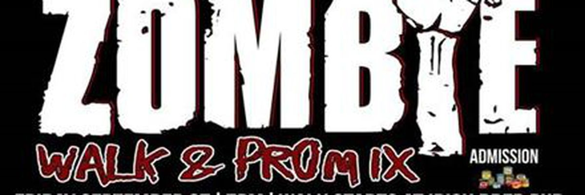 Amble through downtown Montgomery for annual Zombie Walk and Prom