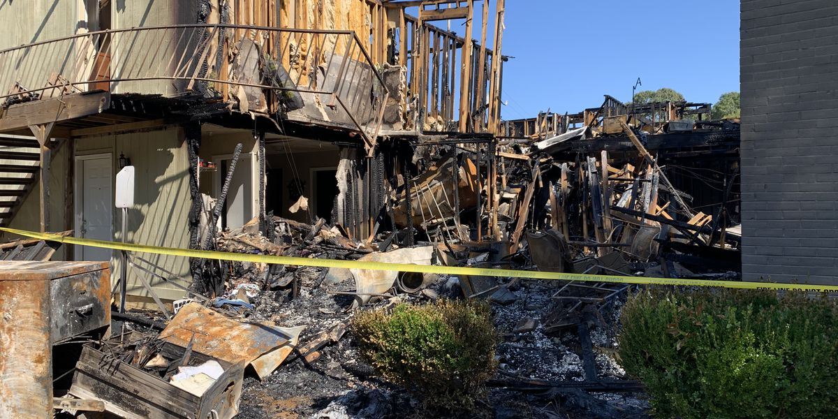 Donations sought for 26 families displaced by apartment fire