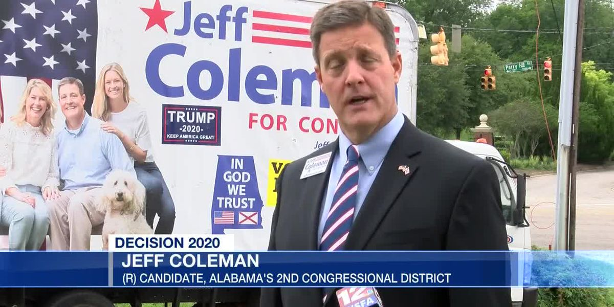 Coleman discusses campaign ahead of U.S. House runoff