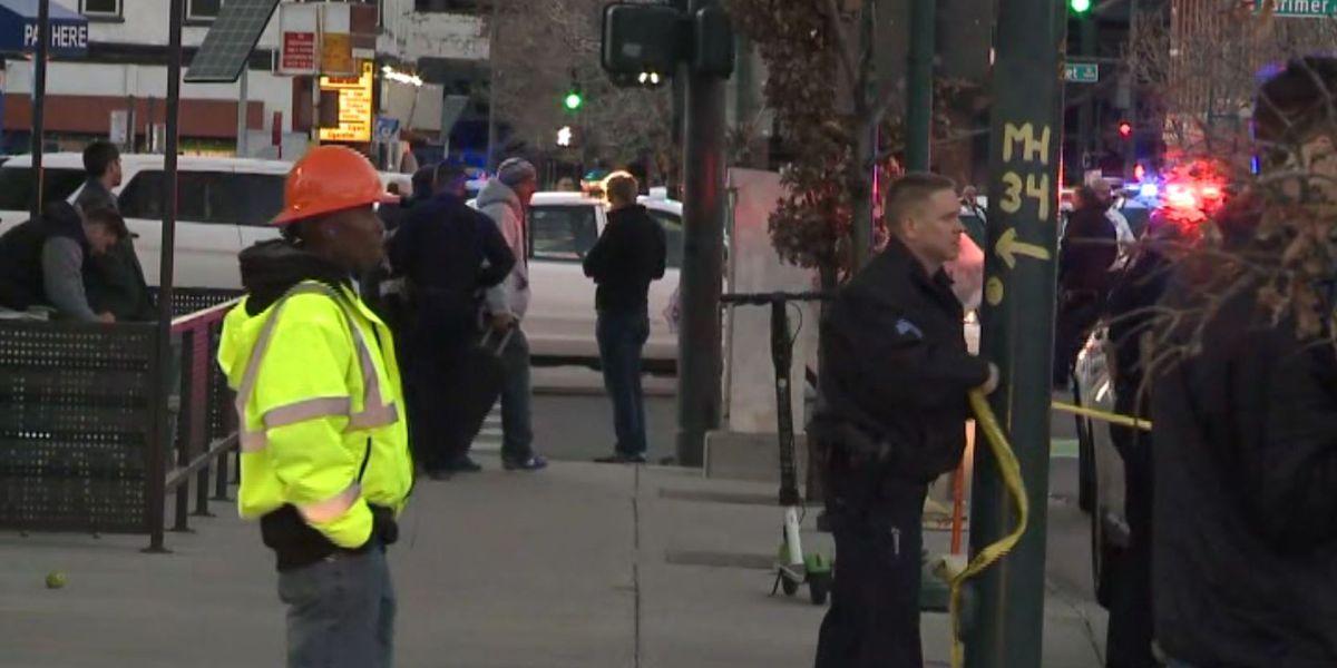 1 dead, 4 injured in downtown Denver shooting