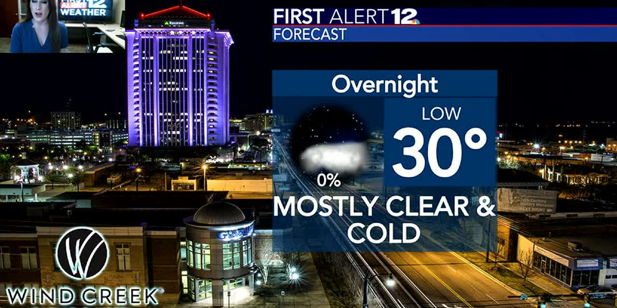 Get ready for a chilly night, and then more sunshine tomorrow!